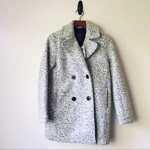 A&F | Marled Wool PeaCoat - XS